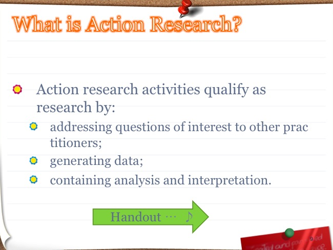 Action Research PowerPoint 9