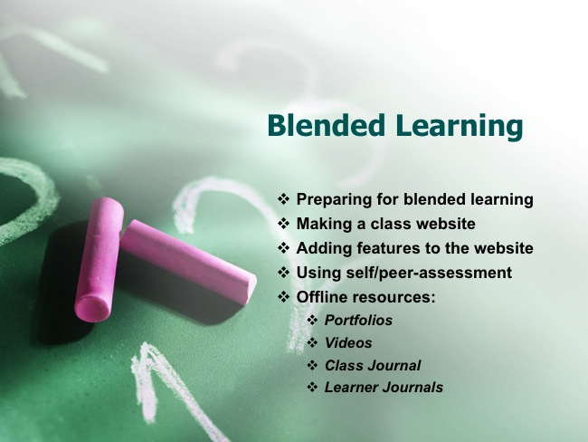 Blended Learning Powerpoint 1