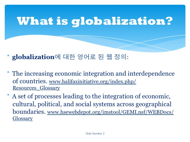 globalization opinion essay  · even though globalization affects the world's economies in a very positive way, its negative side should not be forgotten discuss globalization is integration of.